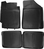 Полиуретановые коврики 3D в салон для Toyota Camry V40 '06-11 (Novline / Element)
