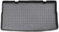 Коврик в багажник для Suzuki Grand Vitara '06- (3 двери), полиуретановый (Novline / Element) серый