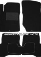 Коврики в салон для MG 5 HB '13- текстильные, черные (Люкс)