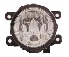 Противотуманная фара с ДХО для Mitsubishi ASX '10-13 левая/правая (DEPO)