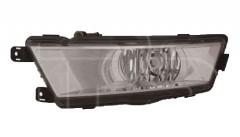 Противотуманная фара для Skoda Rapid '13- левая (DEPO) 5JA941701