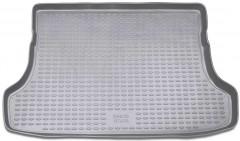 Коврик в багажник для Suzuki Grand Vitara '06- (5 дверей), полиуретановый (Novline / Element) серый