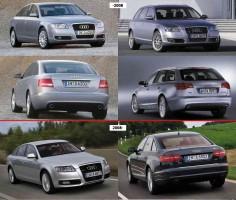 Противотуманная фара для Audi A6 '05-08 правая (FPS)