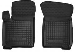 Коврики в салон передние для Fiat Freemont '11-16 резиновые, черные (AVTO-Gumm)