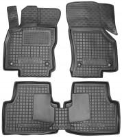 Килимки в салон для Volkswagen Passat B8 '15- гумові, чорні (AVTO-Gumm)