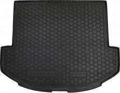 Коврик в багажник для Hyundai Santa Fe '13-17 DM (7 мест, Base), резиновый (AVTO-Gumm)