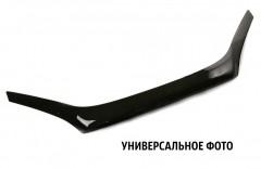 Дефлектор капота для Skoda Octavia A5 '09-13, черный (SIM)