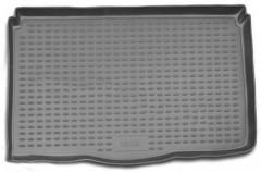 Коврик в багажник для Suzuki Ignis '03-07, полиуретановый (Novline / Element) серый