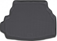 Коврик в багажник для Suzuki Liana '01-07 седан, полиуретановый (Novline / Element) черный