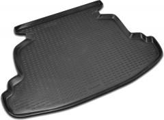 Коврик в багажник для Toyota Corolla '02-07 седан, полиуретановый (Novline / Element) черный