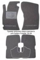 Коврики в салон для Subaru Impreza '07-12 текстильные, серые (Люкс)