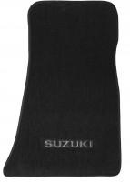 Фото 3 - Коврики в салон для Suzuki Jimny '98- текстильные, черные (Люкс)