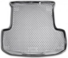 Коврик в багажник для Fiat Linea '07-15, полиуретановый (Novline / Element) черный
