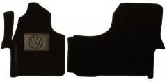 Коврики в салон для Volkswagen Crafter '06-16 текстильные, черные (Люкс)