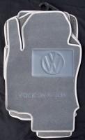 Коврики в салон для Volkswagen Jetta V '06-10 текстильные, серые (Люкс)