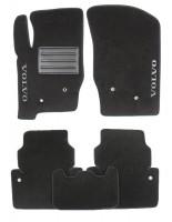 Коврики в салон для Volvo XC 90 '03-14 текстильные, черные (Люкс)