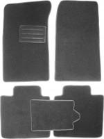 Коврики в салон для ЗАЗ Славута '99-11 текстильные, серые (Люкс)