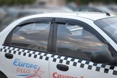 Дефлекторы окон для Chevrolet Lanos / Sens '05- (Cobra)