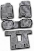Коврики в салон для Cadillac Escalade III '07-13 полиуретановые, черные (Novline / Element)