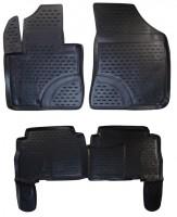 Коврики в салон для Kia Sorento '10-13 XM полиуретановые (Novline / Element)