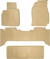 Коврики в салон для Lexus LX 470 '00-07 полиуретановые, бежевые (Novline / Element)
