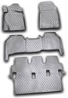 Коврики в салон для Lexus LX 570 '08-12 полиуретановые (Novline / Element)