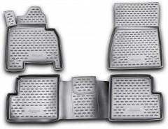Коврики в салон для Mercedes G-Class W463 полиуретановые, черные (Novline / Element)