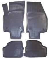 Коврики в салон для Opel Astra H '04-15, хетчбэк, полиуретановые, черные (Novline / Element) EXP.NLC.37.02.210k