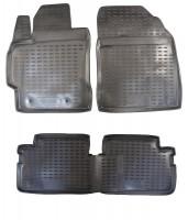 Коврики в салон для Toyota Auris '06-12 полиуретановые (Novline / Element)