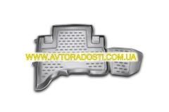 Фото 8 - Коврики в салон для Toyota FJ Cruiser '06- полиуретановые (Novline)