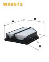 Воздушный фильтр Wix Filters WA9592