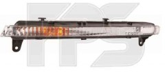 Дневные ходовые огни для Audi Q7 '05-09 лев., короткие (DEPO) 446-1603L-UQ