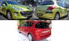 Дневные ходовые огни для Peugeot 308 '11-13 прав. (DEPO) 550-1606R-AE