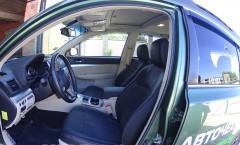 Авточехлы Leather Style для салона Subaru Outback '09-14 (MW Brothers)
