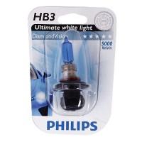 Автомобильная лампочка Philips DiamondVision HB3 12V 55W