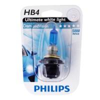 Автомобильная лампочка Philips DiamondVision HB4 12V 55W