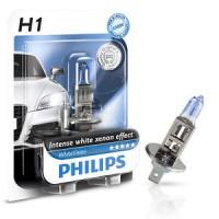 Автомобильная лампочка Philips WhiteVision H1 12V 55W