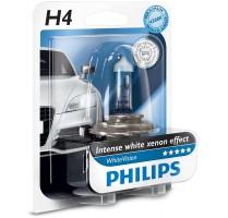 Автомобильная лампочка Philips WhiteVision H4 12V 60/55W