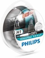 Автомобильная лампочка Philips X-tremeVision +130% H1 12V 55W (комплект: 2 шт.)