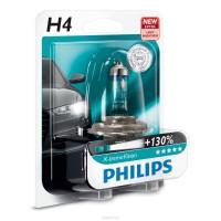 Автомобильная лампочка Philips X-tremeVision +130% H4 12V 60/55W