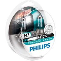 Автомобильная лампочка Philips X-tremeVision +130% H7 12V 55W (комплект: 2 шт.)