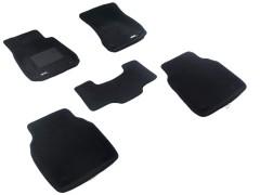 3d Mats Коврики в салон для Audi A8 '10-17 long текстильные 3D чёрные (3D Mats)