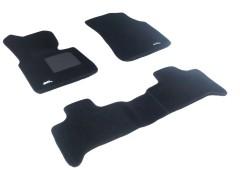 3d Mats Коврики в салон для BMW X5 E53 '00-07 текстильные 3D чёрные (3D Mats)