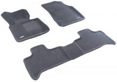 3d Mats Коврики в салон для BMW X5 E53 '00-07 текстильные 3D серые (3D Mats)