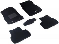 3d Mats Коврики в салон для Chevrolet Cruze '09- текстильные 3D чёрные (3D Mats)