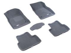 3d Mats Коврики в салон для Chevrolet Cruze '09-16 текстильные 3D серые (3D Mats)