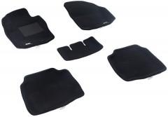 3d Mats Коврики в салон для Ford Mondeo '07-12, седан текстильные 3D чёрные (3D Mats)