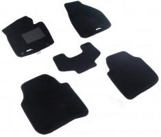 Коврики в салон для Skoda Superb '09-14 седан текстильные 3D чёрные (3D Mats)