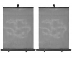 Шторки солнцезащитные c роликовым механизмом 55*45 см., 2шт. (CarLife)