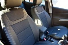 Авточехлы Dynamic для салона Suzuki SX4 '13-, без подлокотника (MW Brothers)